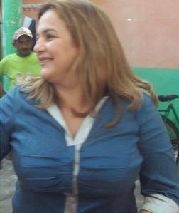 Prefeita Maura Jorge.