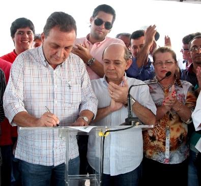 Secretário Luis Fernando Silva destaca a importante de revitalizar a MA 203 e na MA 204
