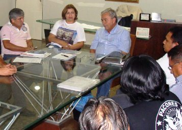Secretário de Educação, Pedro Fernandes.