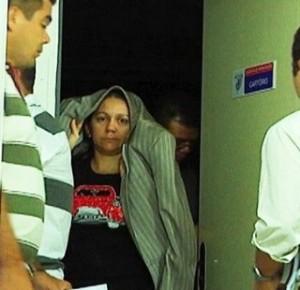 Sobrinha do ex-presidente da Câmara Municipal de Vargem Grande ficou conhecida como 'Loira Fatal' nas redes sociais. Foto: Reprodução