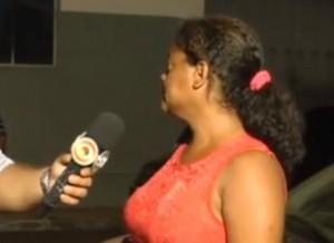 Na entrevista, a mulher revelou ser paciente do CAPs de Imperatriz