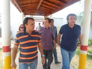 Ricardo Murad e o prefeito de São Mateus Miltinho Aragão (PSB)