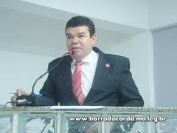 Vereador de Barra do Corda.