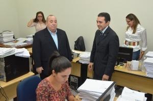 A Coordenadoria de Precatórios foi criada, em maio, pelo presidente do TJMA, desembargador Antonio Guerreiro Júnior (Foto; Ribamar Pinheiro)