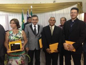 Antonio Pereira recebeiu comenda e, senador La Rocque