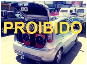 Som alto de carros fica proibido em Barão de Grajaú.