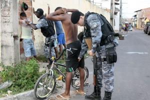 #Operação da polícia Militar no bairro da Ilhinha