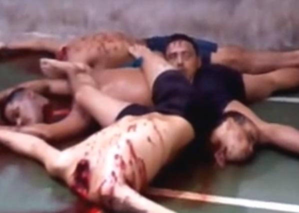 Presidiários mortos ontem (17) em Pedrinhas