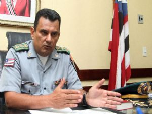 O comandante da Polícia Militar do Maranhão, coronel Aldimar Zanoni Porto,