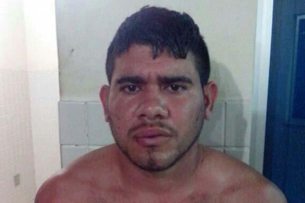 Alan Kardec Dias foi preso na madrugada desta quinta-feira, no município de Santa Maria do Pará