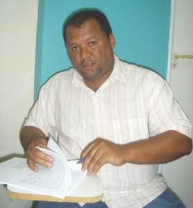 Ex-prefeito do município de Cajapió, Francisco Xavier Silva Neto.