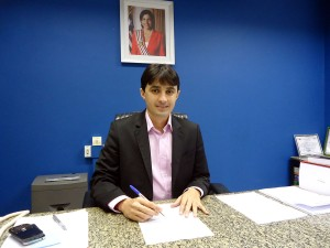 Diretor Geral do Detran-MA, André Campos.