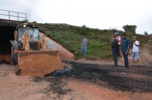 Foto 3 Sejap - retomada obras de construção do presídio