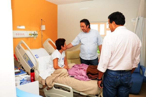 Representante do Ministério da Saúde elogia instalações do Hospital de Alta Complexidade Carlos Macieira