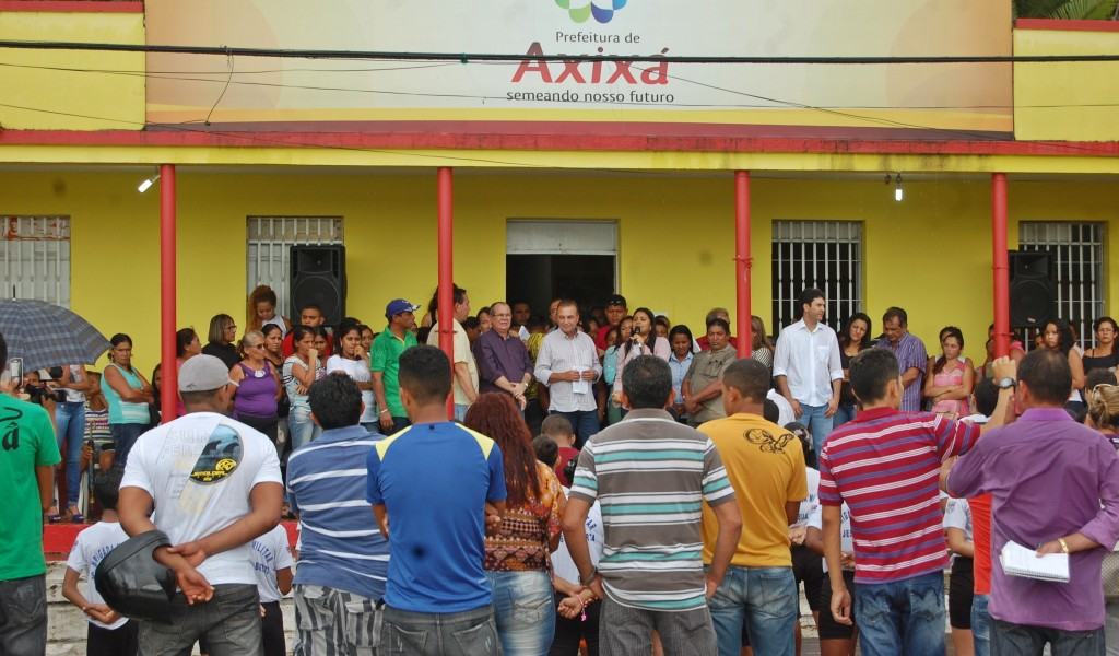 Luis Fernando em Axixá.