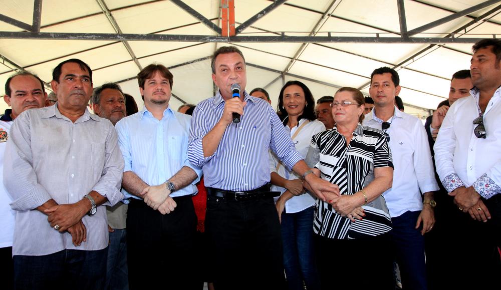 Luis Fernando em Paço do Lumiar (foto: Handson Chagas).