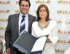 Edivaldo Júnior e Helena. (foto: Divulgação/ Maurício Alexandre).