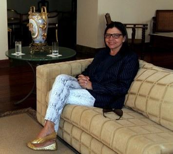 Roseana Sarney no Palácio dos Leões.