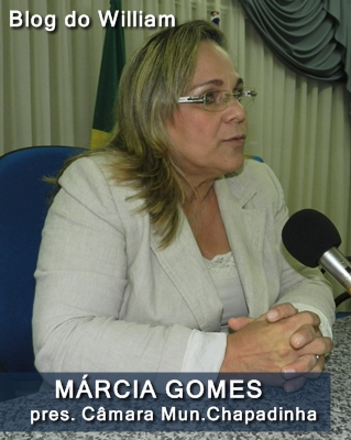 Márcia de Jesus Gomes Rocha, ex-presidente.