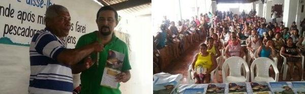 Em Matinha, o superintendente explanou sobre o Plano Safra, uma importante projeto do Governo Federal.