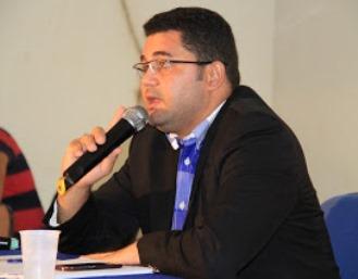 Presidente da Camara, Dr Silvano Andrade.