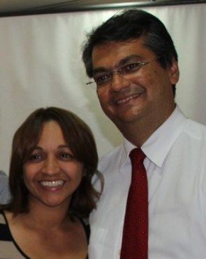 Gama e Flávio Dino juntos em prol do projeto da oposição.