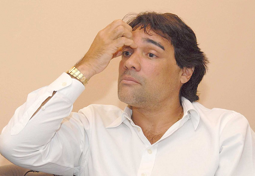 Edinho Lobão: o candidato derrotado.