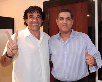 Cláudio Trinchão reafirmou o apoio do PSD ao pré-candidato Lobão Filho.