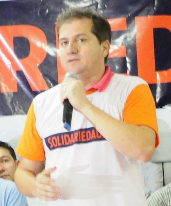 Simplício Araújo, deputado federal e presidente do Solidariedade.