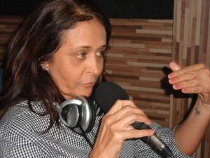 Prefeita Gleide Santos.