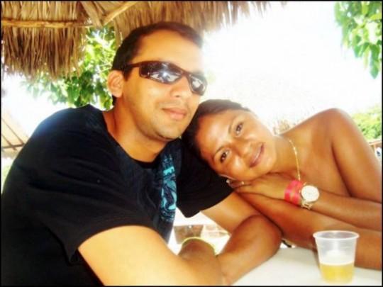 Javé Ferreira e sua esposa Márcia Carvalho