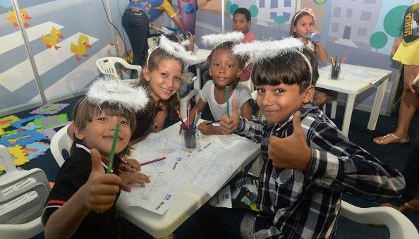 Detran cria espaço infantil no Arraial da Lagoa.