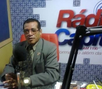 Radialista Renato Souza.