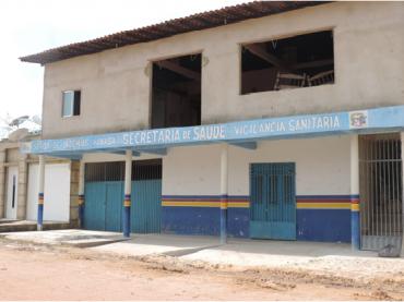 Prédio da secretaria municipal de saúde