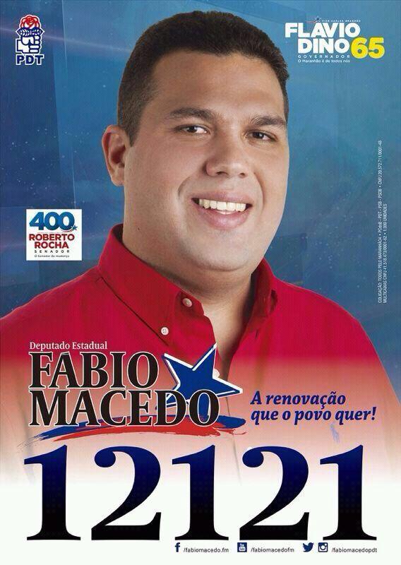 Deputado Estadual Fábio Macedo - 12121