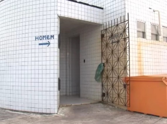 Banheiro público da av. Litorânea