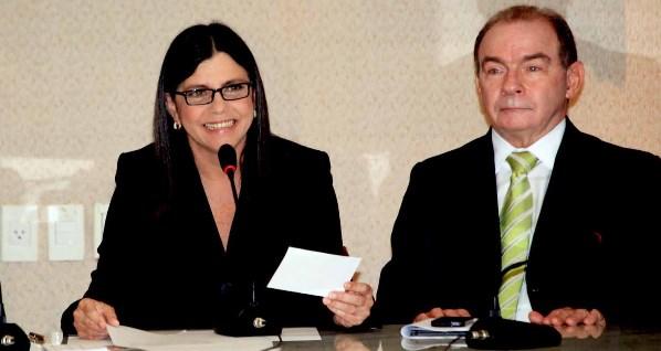 Roseana Sarney e João Abreu.