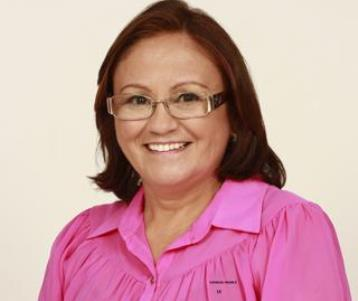 Margareth Bringel foi candidata a prefeita de Vitorino.
