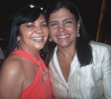 Prefeita Tina Monteles e a governadora Roseana Sarney