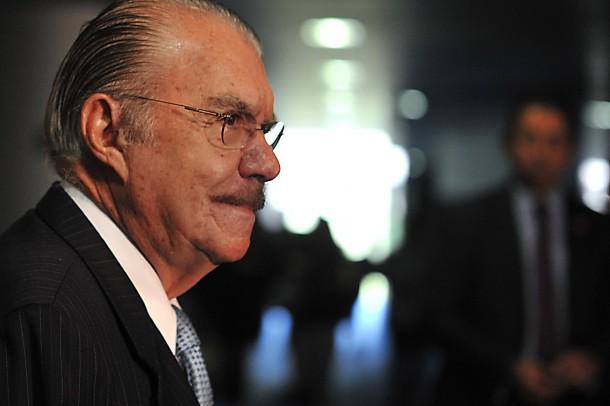 LAÇO$ DE FAMÍLIA O pai da governadora Roseana e fornecedor do Governo do Maranhão, José Sarney. Foto: Antonio Cruz / ABr