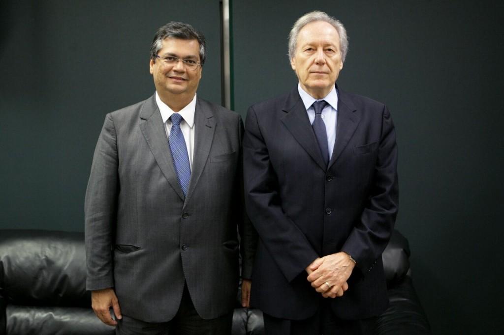 Flávio Dino e o ministro do Supremo.
