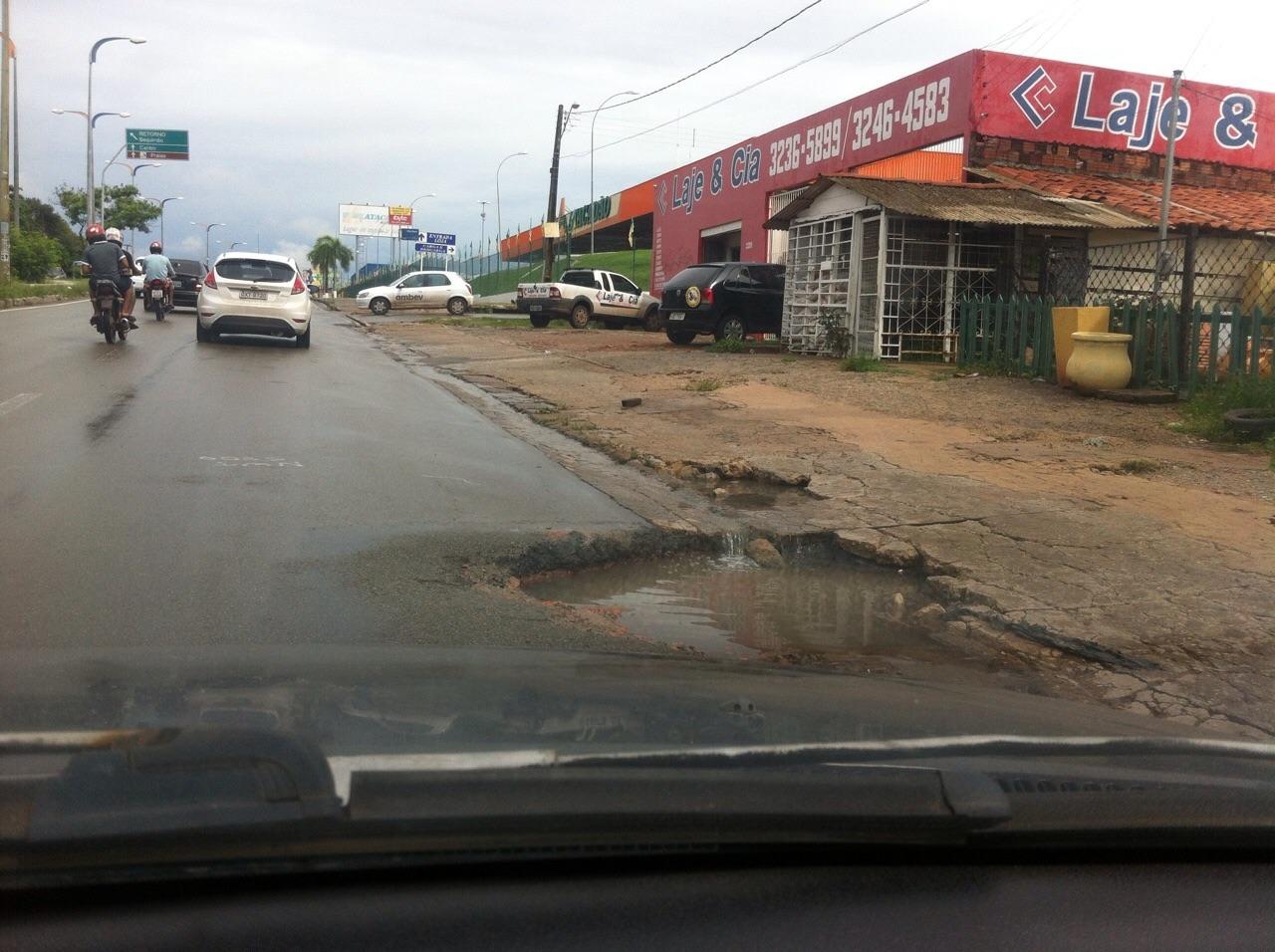 Avenida movimentada de São Luís. (Foto: Hilton Franco)