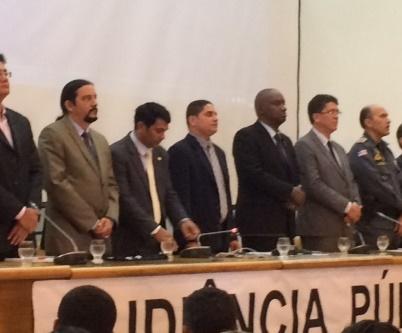Audiência Publica Concurso Segurança.