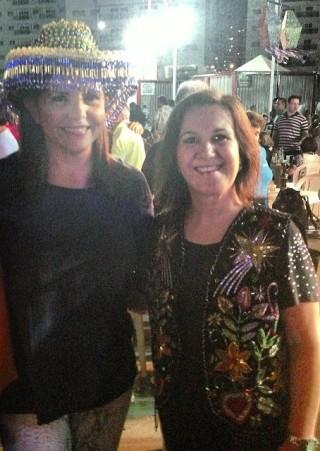 Ex-governadora Roseana Sarney e Olga Simão.
