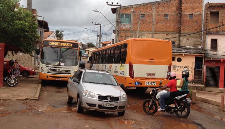 A via passou por obras em 2014. Foto: Heider Matos/Imirante.com