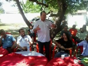Carlos Brandão em visita a cidade de São Mateus