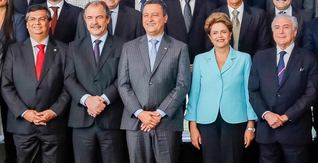 Reunião de governadores com a presidenta.
