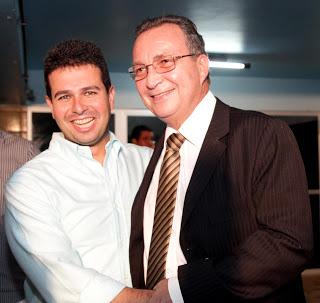 Gil Cutrim e Luis Fernando juntos em 2016.