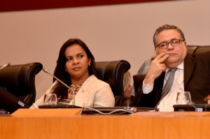 Deputada Ana em sessão especial dos 25 anos do ECA