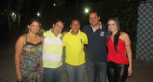 Jacimara Maciel, Coronel, Raimundo Penha e Weverton Rocha.